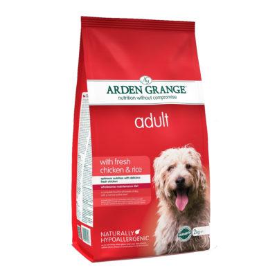 Hrana za pse Arden Grange Adult Piščanec in riž