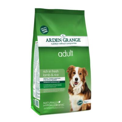 Hrana za pse Arden Grange Adult Jagnjetina in riž