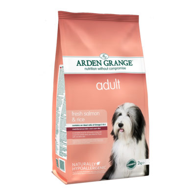 Hrana za pse Arden Grange Adult losos in riž