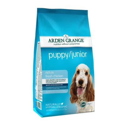 Hrana za pse Arden Grange Puppy/Junior