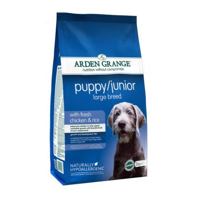 Hrana za pse Arden Grange Large breed puppy/Junior