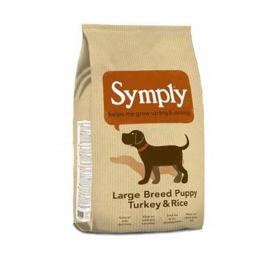 Symply Large Breed Puppy Turkey&Rice – Hrana za mladiče velikih pasem s puranom in rižem