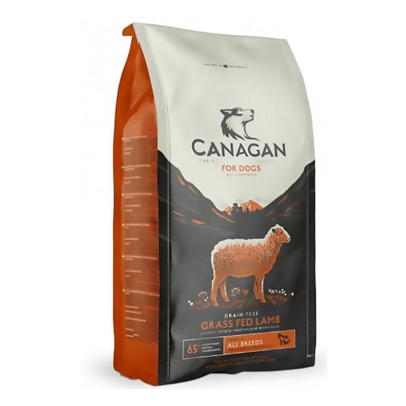 Hrana za pse Canagan Grass-fed Lamb – pašniška jagnjetina