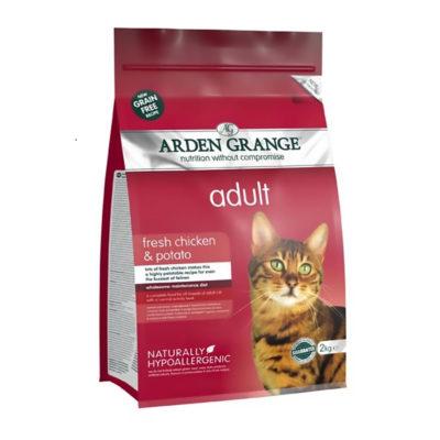 Arden Grange Cat Adult Piščanec in Krompir