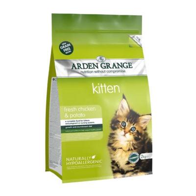 Arden Grange Kitten Piščanec in Krompir