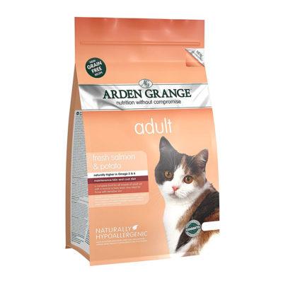 Arden Grange Cat Adult Losos in Krompir