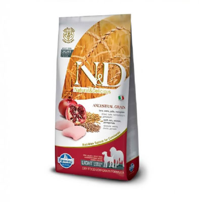 N&D Chicken & Pomegranate Light Medium & Maxi