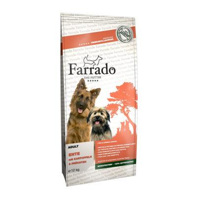 Hrana za pse Farrado Raca s krompirjem in grahom