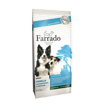 Hrana za pse Farrado Postrv s krompirjem in grahom