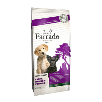 Hrana za pse Farrado Junior Losos s Krompirjem in Grahom