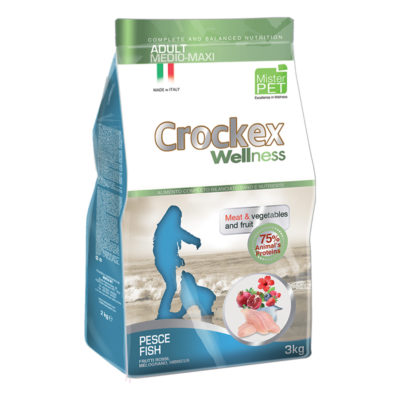 Crockex Adult Medium Maxi Fish & Rice