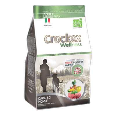 Crockex Adult Medium Maxi Horse & Potatoes