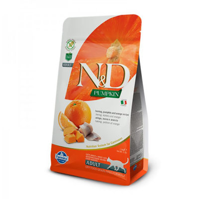 N&D Adult Cat - Herring & Orange