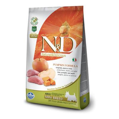 N&D Pumpkin Boar and Apple Adult Mini