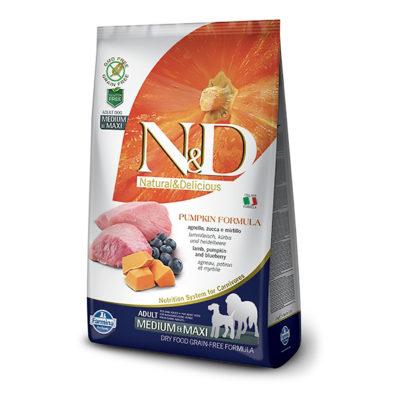 N&D Pumpkin – Jagnjetina Medium/Maxi Adult