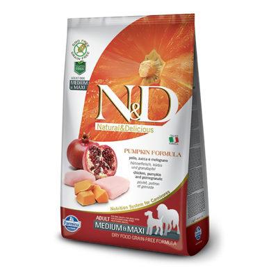 N&D Pumpkin – Piščanec Medium/Maxi Adult
