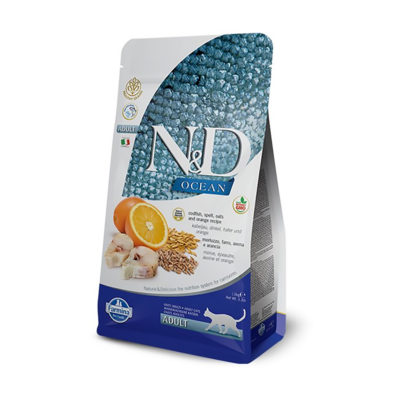 N&D Ocean Cod, Spelt, Oats & Orange Adult